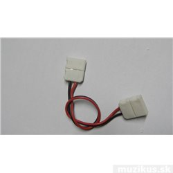 Spojka pro LED světelný pásek, rohová, SMD3528, 8 mm