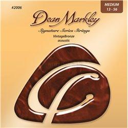 DEAN MARKLEY 2006 MED 13-56 VintageBronze Acoustic