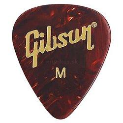 GIBSON Celluloid Guitar Picks Tortoise Medium