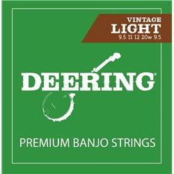 DEERING Banjo Strings Vintage Light