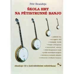 Škola na pětistrunné banjo + CD