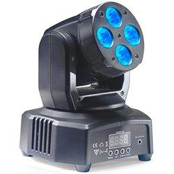 STAGG LED otočná hlavice 4x 10W QCL, DMX