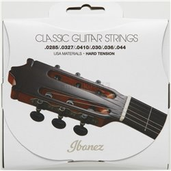 IBANEZ String Set 6 String Hard Tension .0285/.0327/.0410/.030/.036/044 Clear Nylon / Silverplated Wound