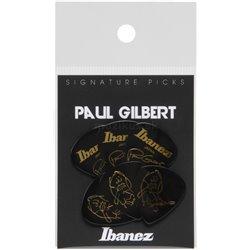 IBANEZ Picks Signature Series - Paul Gilbert 6 pcs. Black 1,0mm Heavy