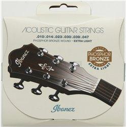 IBANEZ String Set for 6 String .010/.014/.023/.030/.039/.047 Phosphor/Bronze