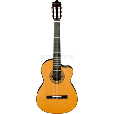 IBANEZ Concert Guitar 6-String Amber High Gloss