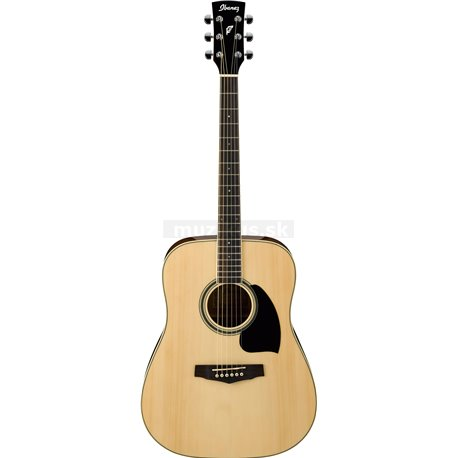 IBANEZ PF Performance Acoustic Guitar 6-String Natural High Gloss