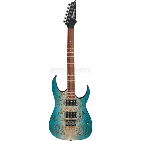 IBANEZ RG-Series E-Guitar 6 String Caribbean Shoreline Flat