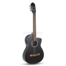 GEWA E-akustická, klasická kytara Student Cedar E-akustická / černá
