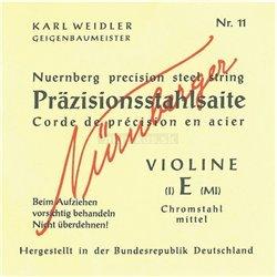 NĂśRNBERGER STRINGS FOR VIOLIN PRECISION SOLID CORE 1/4 74