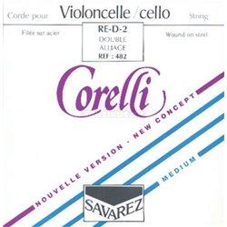 Corelli Corelli struny pro čelo Ocel 480