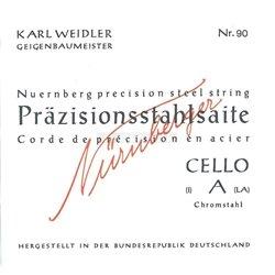 Nürnberger Nürnberger struny pro čelo Precizní 4/4 90