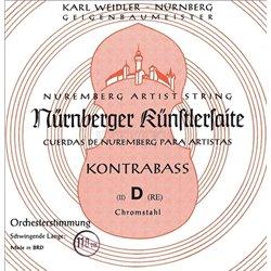 NĂśRNBERGER STRINGS FOR DOUBLE BASS KUENSTLER ORCHESTRA TUNING 4/4 59