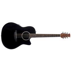 Applause E – akustická kytara APPLAUSE E-akustická kytara AB28 Super Shallow Bowl Cutaway Black Satin AB28-5S