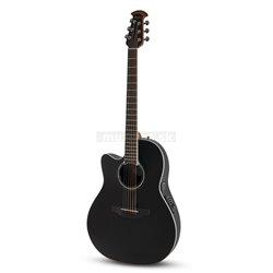 Ovation E – akustická kytara Celebrity Standard Mid Cutaway černá CS24L-5G