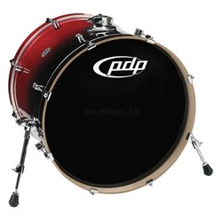 PDP BY DW BASS DRUM CONCEPT BIRCH Natural to Charcoal Fade