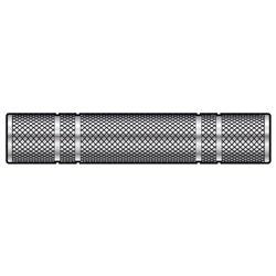 Spojka Jack 6,3 mm stereo zásuvka - Jack 6,3 mm stereo zásuvka, kovová