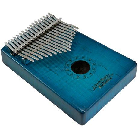 Dimavery KL-6, kalimba, 17 C, modrá