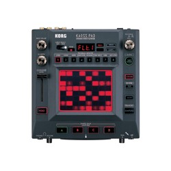 Korg KP-3 - Kaoss Pad. Dynamický efekt-procesor/sampler s USB, SD Card.