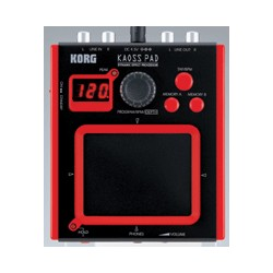 Korg Mini-KP - Mini KAOSS Pad - dynamický efektový procesor. 100 efektů, napájení na baterie.