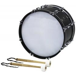 BSX Pochodový bubínek Bass drum - 18x10'' černé