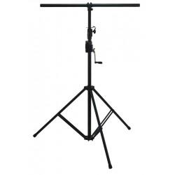 BSX Vysoký stojan pro osvětlení - Černá ocel s kličkou