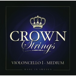 Crown struny pro čelo - Medium