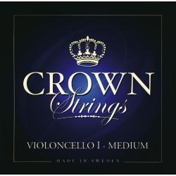 Crown struny pro čelo - Forte