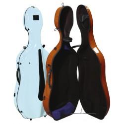 Gewa púzdro pro Cello Idea-pastelové barvy Evolution 4.9 kg - Světlá modrá/antracitová