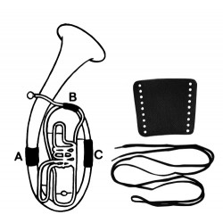 Gewa ochrana pro ruku Kůže - B-tuba, díl C
