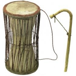 Kamballa Talking Drum - Výška 42cm, pr.19cm