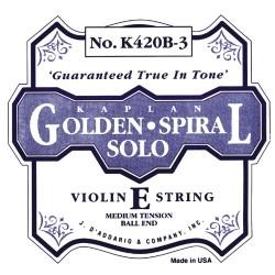Kaplan struny pro hosule Golden-Spiral Solo - 301W