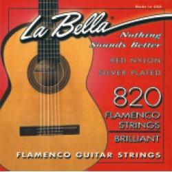 La Bella struny pro klasickou kytaru Flamenco - E1 821B