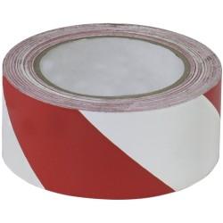 markenfrei Výstražná páska - Bílá/červená