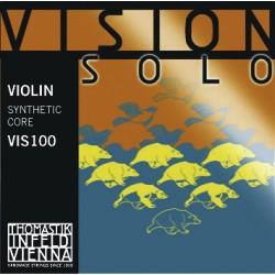 Thomastik Infeld struny pro husle Vision Solo - E ocel, pozinkované VIS01