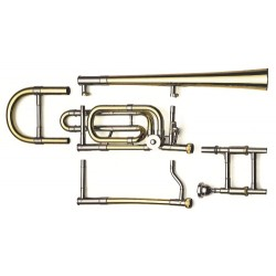 Vincent Bach Bb/F-Tenor pozoun 42C Stradivarius Serie - LT42CG