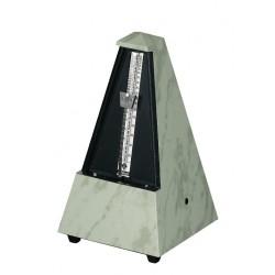 Wittner Metronom Designer Serie. Bez zvonu Pyramidový tvar - Bílý 845103