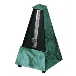 Wittner Metronom Designer Serie. Se zvonem Pyramidový tvar - Safírově zelený 855105