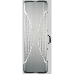 RockCase - Premium Line - Electric Bass ABS Case, rectangular - Silver, 4 pcs.