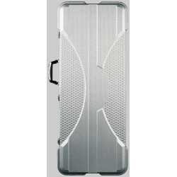 RockCase - Premium Line - Electric Guitar ABS Case, rectangular - Silver, 4 pcs.