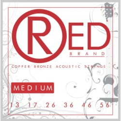 Cleartone CT7313 - RED Copper Bronze Acoustic Strings