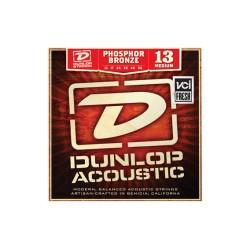 Dunlop Acoustic Phosphor Bronze, Acoustic Guitar String Set, Medium, .013-.056
