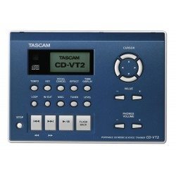 Tascam CD-VT2 - mobilný CD vokálne a nástrojový trainer