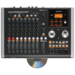 Tascam DP-02CF - 8 track digi workstation