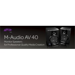 M-AUDIO AV-40 II