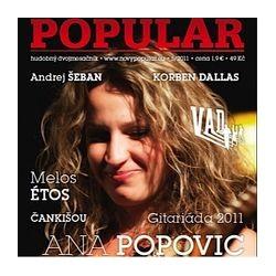 NOVÝ POPULÁR - 5/2011- hudobný dvojmesačník s CD Bluesová spoločnosť č. 7