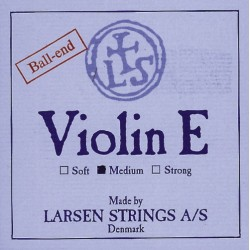 Larsen Saiten für Violine Synthetic/Fiber Core Medium
