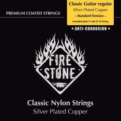 Fire&Stone Struny pre klasickú gitaru Sada strun Regular Standard tension