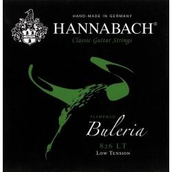 Hannabach Struny pre klasickú gitaru série 826 Light Tension Flamenco Buleria 3-tá Diskant