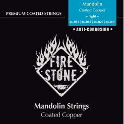 Fire&Stone Struny pre mandolínu Sada strun Light